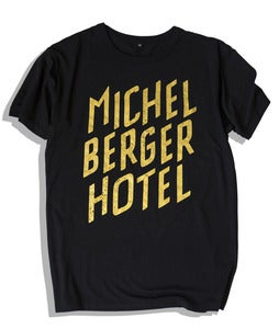 Image of Tee Michelberger Black/ Gold
