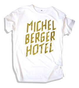 Image of Tee Michelberger White/ Gold