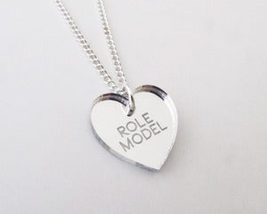 Image of Role Model Necklace - Silver