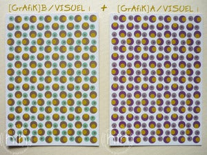 Image of lot 2 cartes mix [GrAfiK] A+B