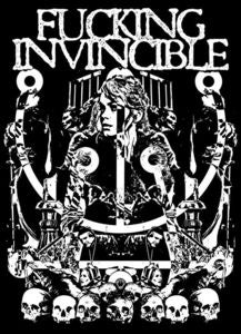 Image of AA!#04T Fucking Invincible T-Shirt
