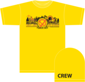 Image of 2013 Circle X Ranch FLSR LAAC - Tee Shirt - with Crew # Sleeve Print