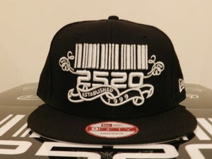 Image of 2520 Black Custom SnapBack (The Beginning)