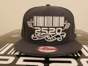 Image of 2520 Gray Custom Snapback (The Beginning)