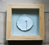 Image of Framed Daisy Plate