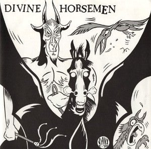 "Image of DIVINE HORSEMEN - 'MY SIN' / 'DEVIL'S RIVER' (SHOCK 7"", 1990)"