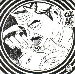 "Image of CUL DE SAC - 'SAKHALIN' / 'CANT' (SHOCK 7"", 1992)"