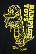 Image of NEW!  RAMPAGE x Art Junkie T-shirts + Dino set.
