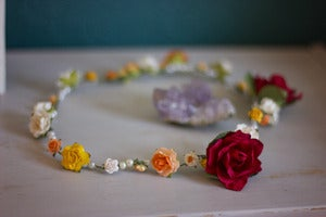 Image of Floral Crown Headdress *NEW*