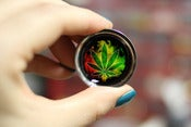 Image of Rasta Weed Leaf Plugs