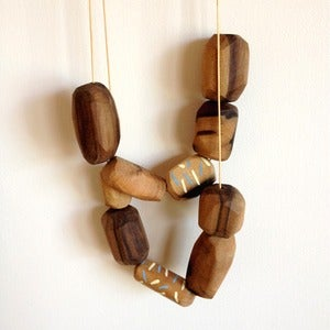 Image of Sassafras Fleck Necklace