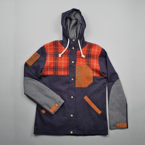 Image of NANATAK JACKET - NAVY