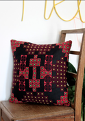 Image of BOHO Embroidered Cushion - Minka