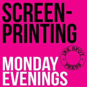 Image of Screenprinting Monday Evenings: June / July