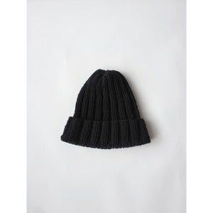 Image of Double Rib Toque | Black