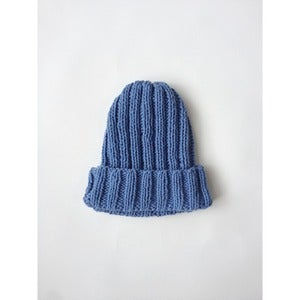 Image of Double Rib Toque | French Blue