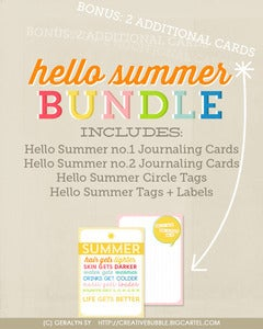 Image of *NEW* Hello Summer Bundle (Digital)