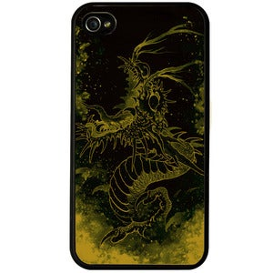 Image of 'Golden Dragon' phone case