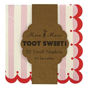 Image of Toot Sweet Stripe Napkins