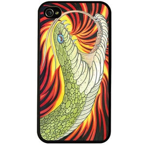 Image of 'Fire Snake' phone case