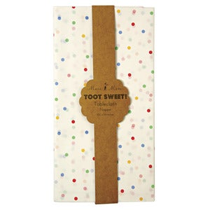 Image of Toot Sweet Spotty Tablecloth