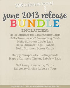 Image of *NEW* June 2013 Release Bundle (Digital)
