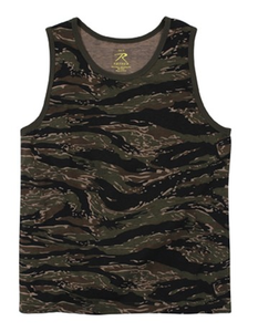 Image of Rothco Tiger Stripe Camo Tank