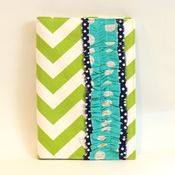Image of MAAY planner covers - green chevron