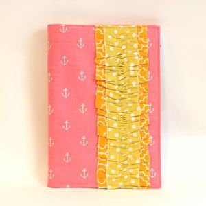 Image of MAAY planner covers - pink anchors *sold out, more coming soon!*