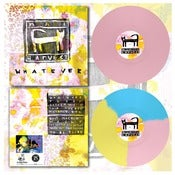 "Image of DK035: Nai Harvest - Whatever 12"" LP - 2nd Press - Light Pink /100, Tri-Colour /200"