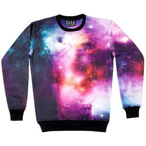 Image of Purple Galaxy Sweatshirt