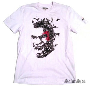 Image of Mike Tyson x Staple - Raging Pigeon Tshirt