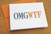 Image of OMGWTF Card