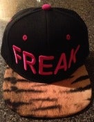 Image of Freaky tiger SnapBack (pink/black)