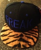 Image of Freaky tiger SnapBack (black/blue)