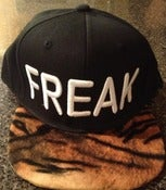 Image of Freaky tiger SnapBack (black/white)