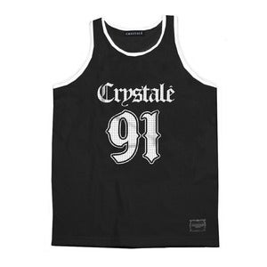 Image of Jersey Tank Top in Black