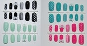 Image of Vintage bow nail art set