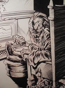 Image of TALES FROM THE CRYPT: CRYPTKEEPER original inked drawing