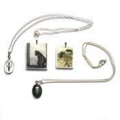 Image of Sale Lot 10: 2 x Curious Pendants + 2 Necklaces