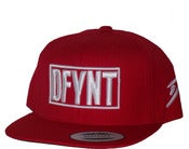 Image of DFYNT Red Snapback Hat Cap