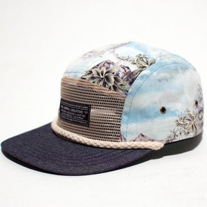 Image of Ampal - Seven Seas Blue Camp Cap