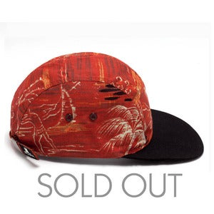 Image of MOUPIA Tropical Fisherman 5 Panel Hat