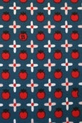 Image of Snow White Apples organic cotton jersey (by the half metre)