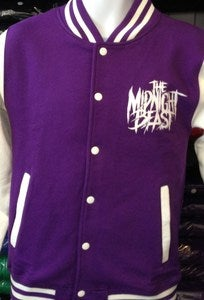 Image of PURPLE VARSITY JACKET