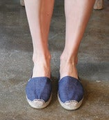 Image of Denim Espadrille