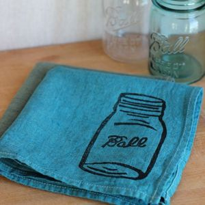Image of Mason Jar Napkin Set