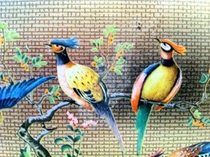 Image of VINTAGE PRETTY BIRDIE TIN