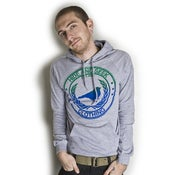 Image of Heather Grey Classic Logo Pull-Over