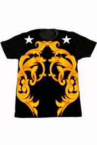 Image of THRONE II TSHIRT (BLACK)